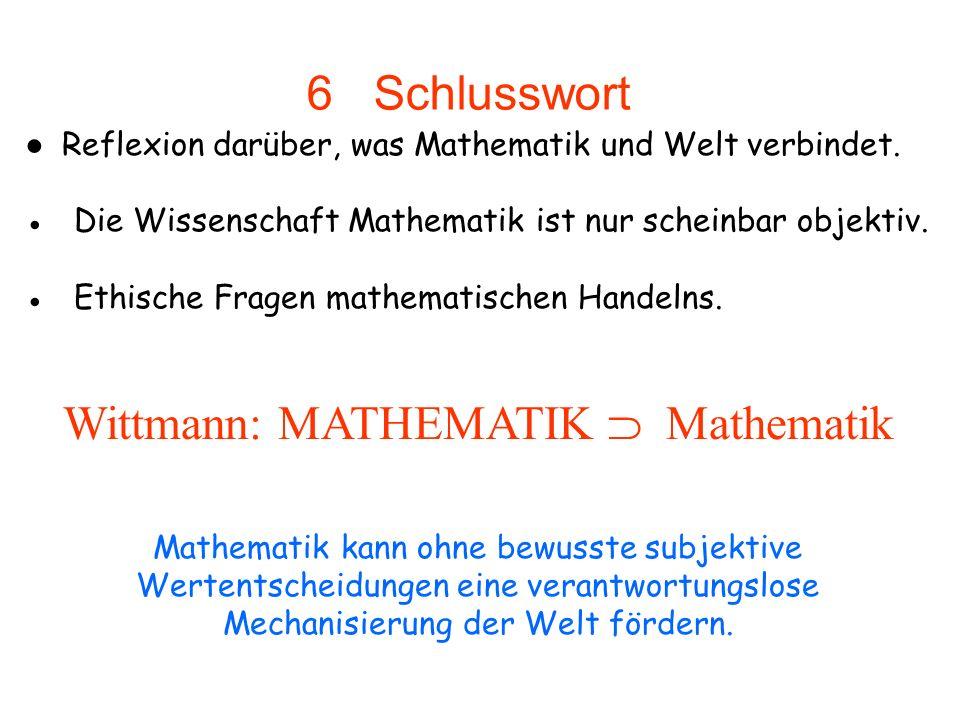 Wittmann: MATHEMATIK  Mathematik