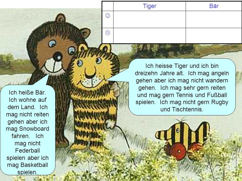 Tiger Bär.  