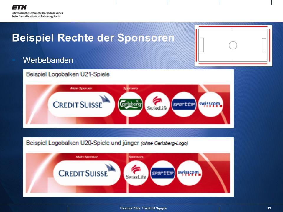 Beispiel Rechte der Sponsoren