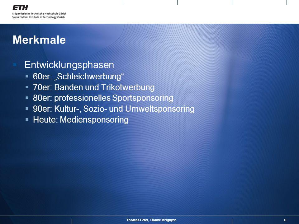 """Merkmale Entwicklungsphasen 60er: """"Schleichwerbung"""