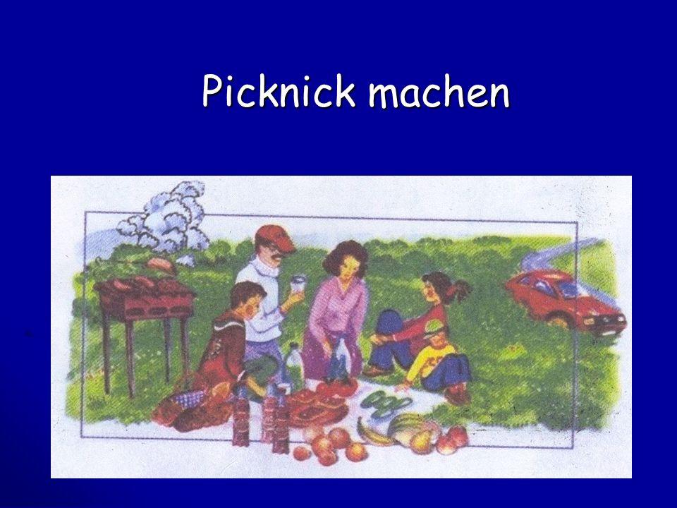 Picknick machen