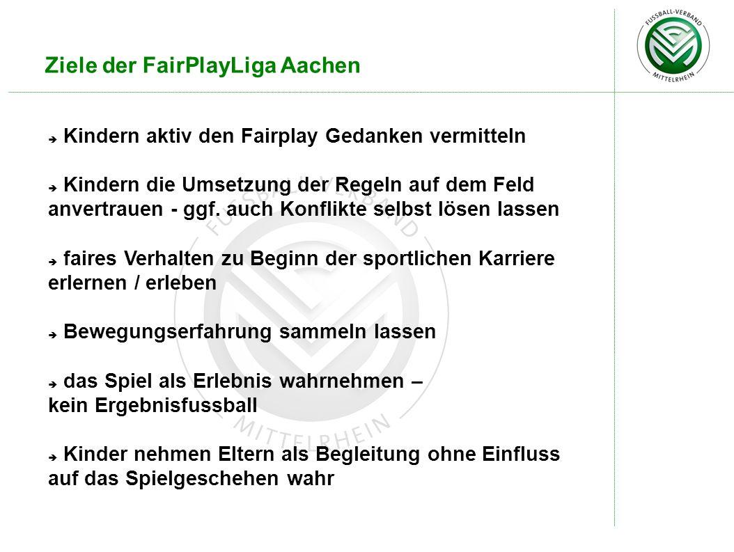 Ziele der FairPlayLiga Aachen