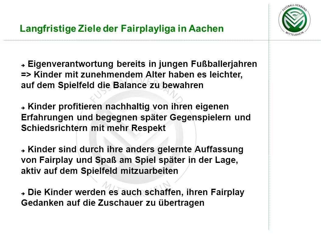 Langfristige Ziele der Fairplayliga in Aachen