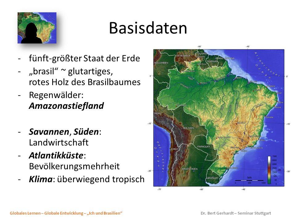 Basisdaten fünft-größter Staat der Erde