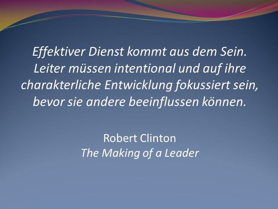 Robert Clinton The Making of a Leader