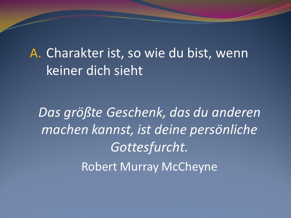 Robert Murray McCheyne