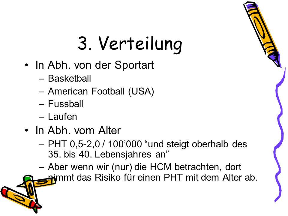 3. Verteilung In Abh. von der Sportart In Abh. vom Alter Basketball