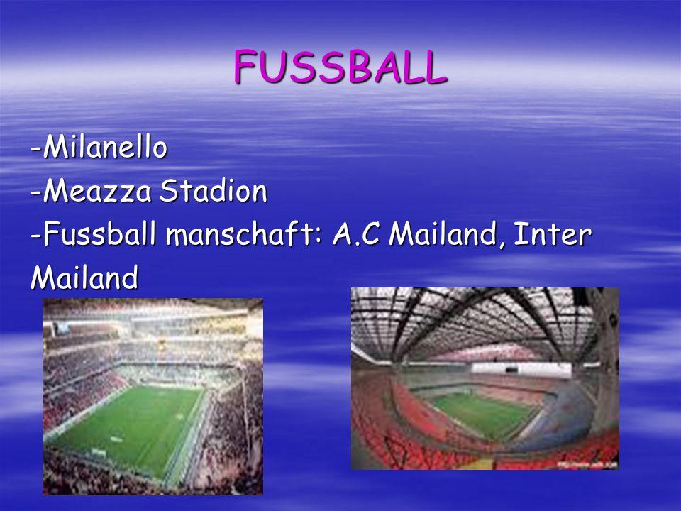 FUSSBALL -Milanello -Meazza Stadion