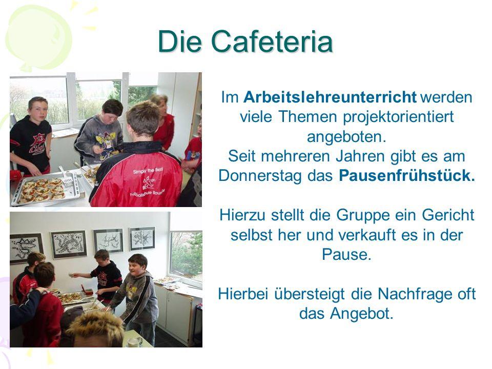 Die Cafeteria Im Arbeitslehreunterricht werden