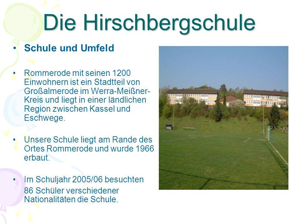 Die Hirschbergschule Schule und Umfeld