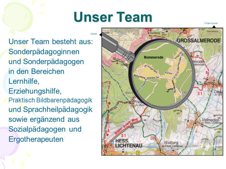 Unser Team Unser Team besteht aus: Sonderpädagoginnen