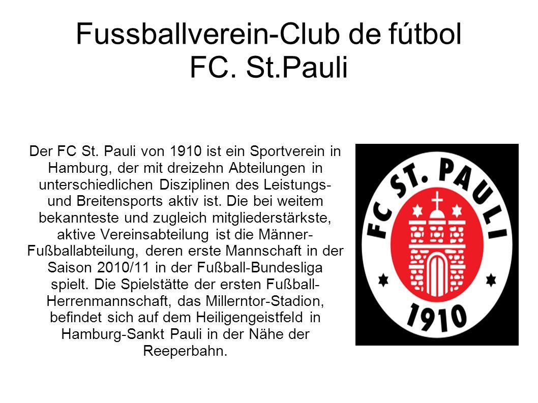 Fussballverein-Club de fútbol FC. St.Pauli