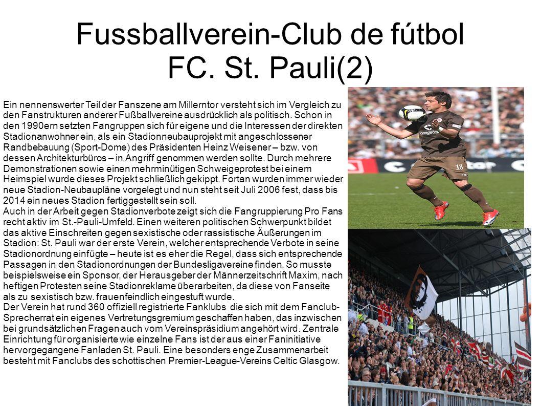 Fussballverein-Club de fútbol FC. St. Pauli(2)