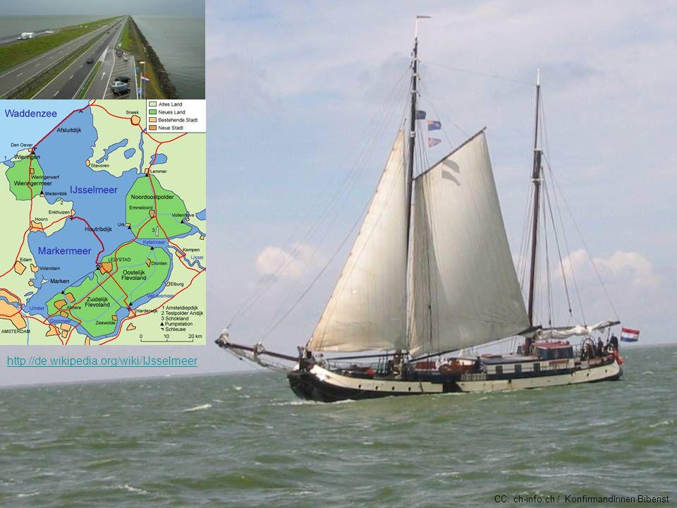 Das Isselmeer ist sehr beliebt für Segelwochen