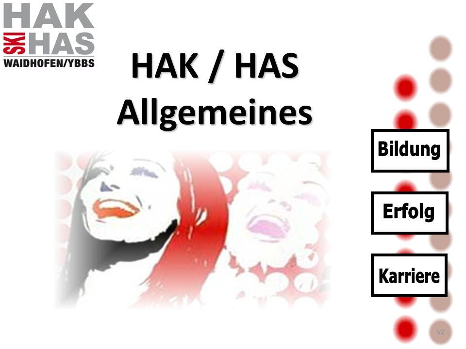 HAK / HAS Allgemeines Bildung Erfolg Karriere