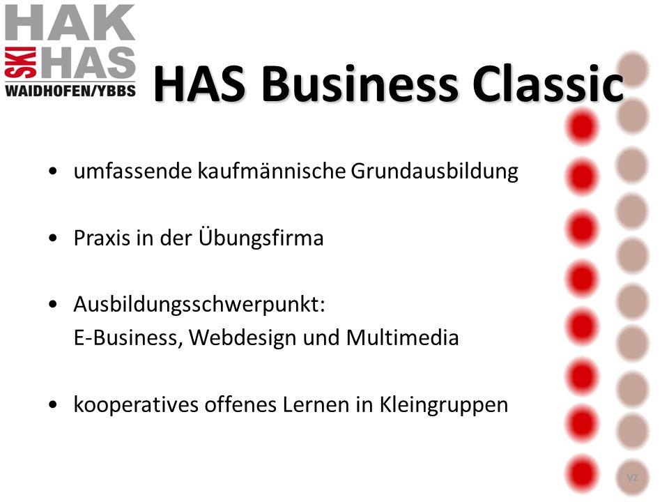 HAS Business Classic umfassende kaufmännische Grundausbildung