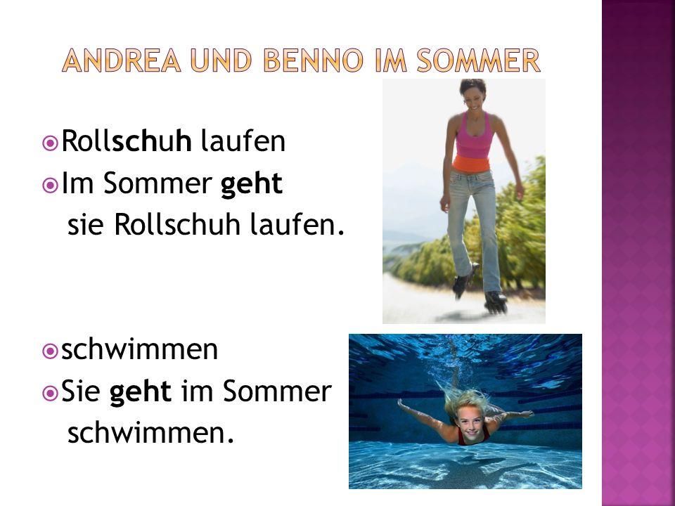 Andrea und Benno im Sommer