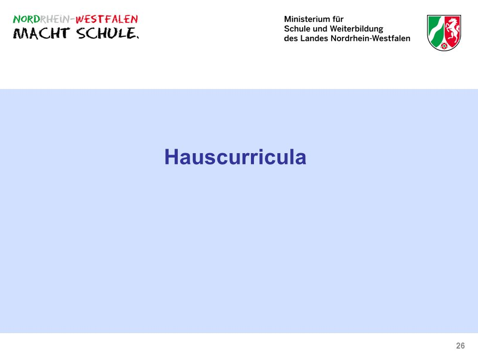 Hauscurricula