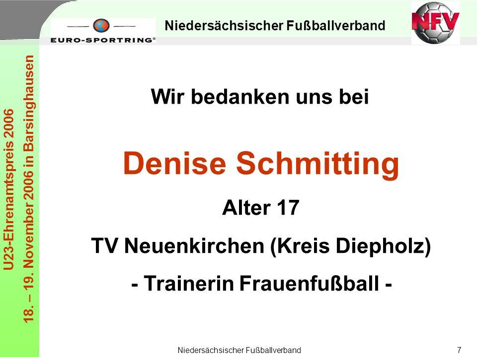 TV Neuenkirchen (Kreis Diepholz) - Trainerin Frauenfußball -
