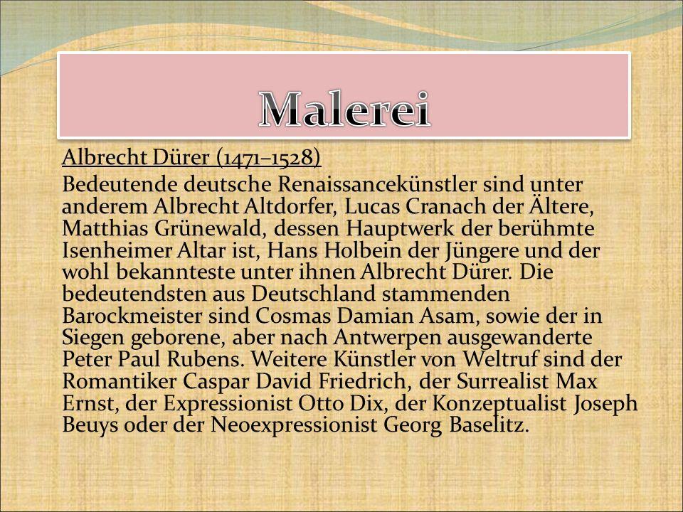 Malerei Albrecht Dürer (1471–1528)