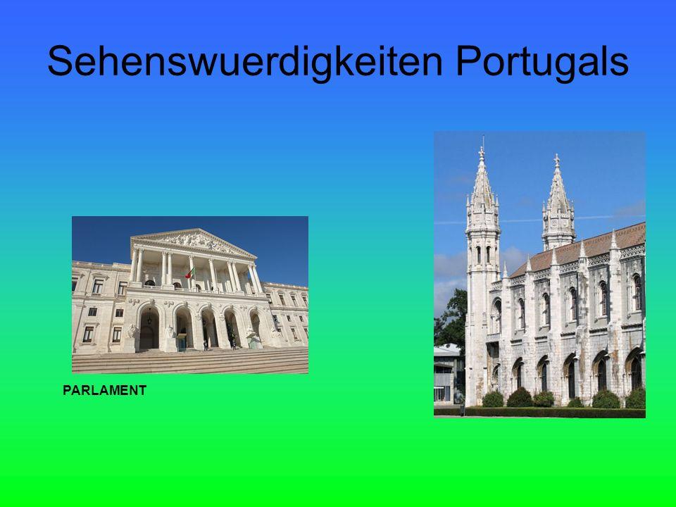 Sehenswuerdigkeiten Portugals