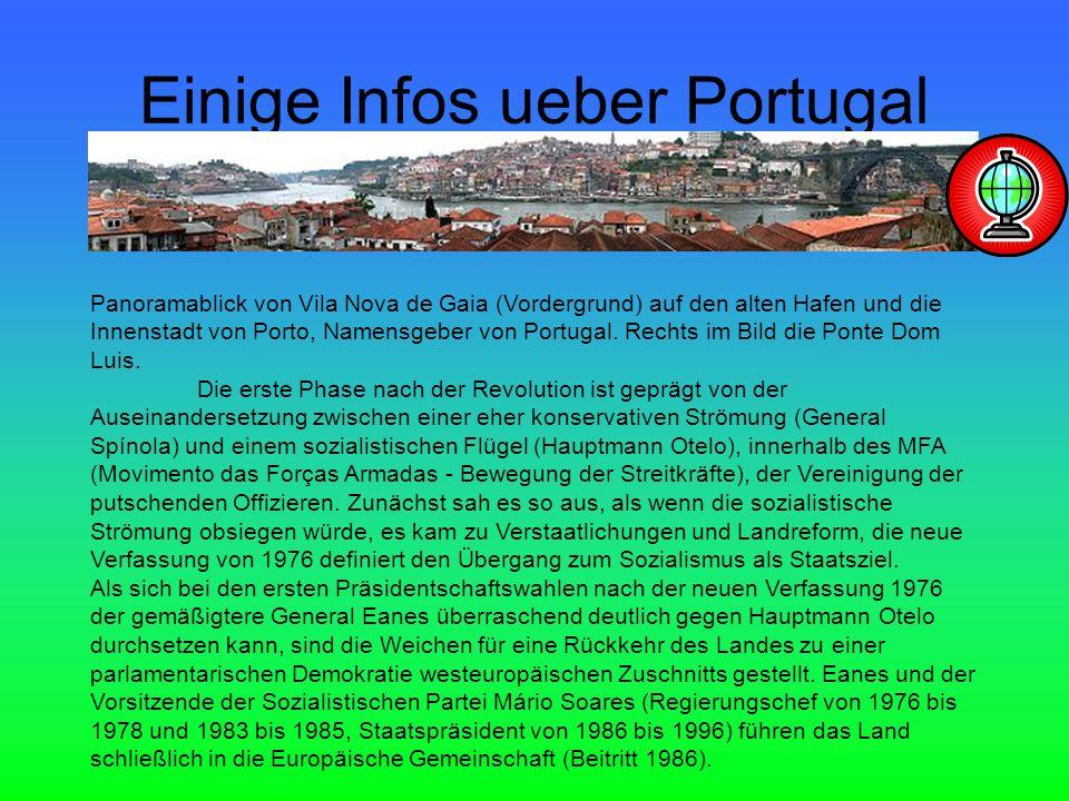 Einige Infos ueber Portugal