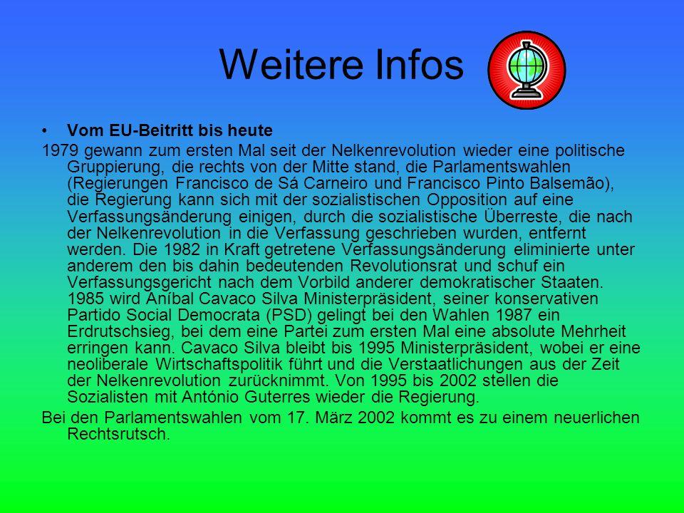 Weitere Infos Vom EU-Beitritt bis heute