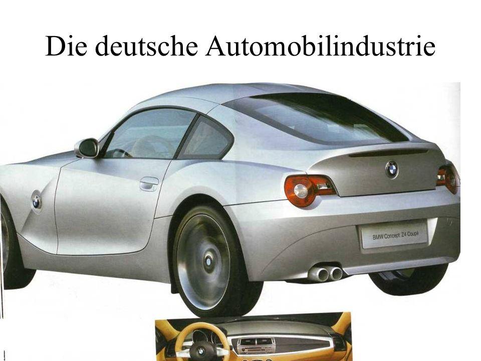 Die deutsche Automobilindustrie