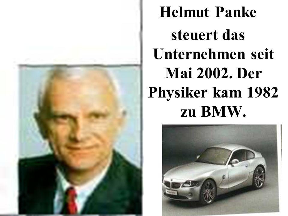 Helmut Panke steuert das Unternehmen seit Mai 2002