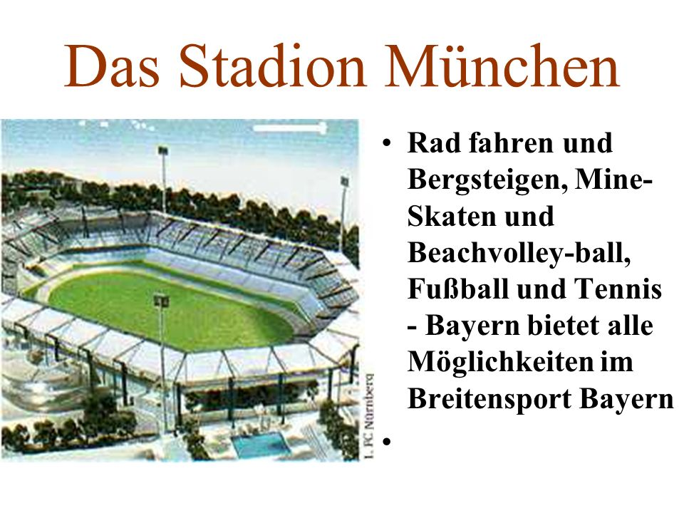 Das Stadion München