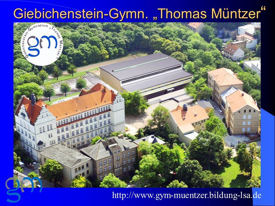 """Giebichenstein-Gymn. """"Thomas Müntzer"""