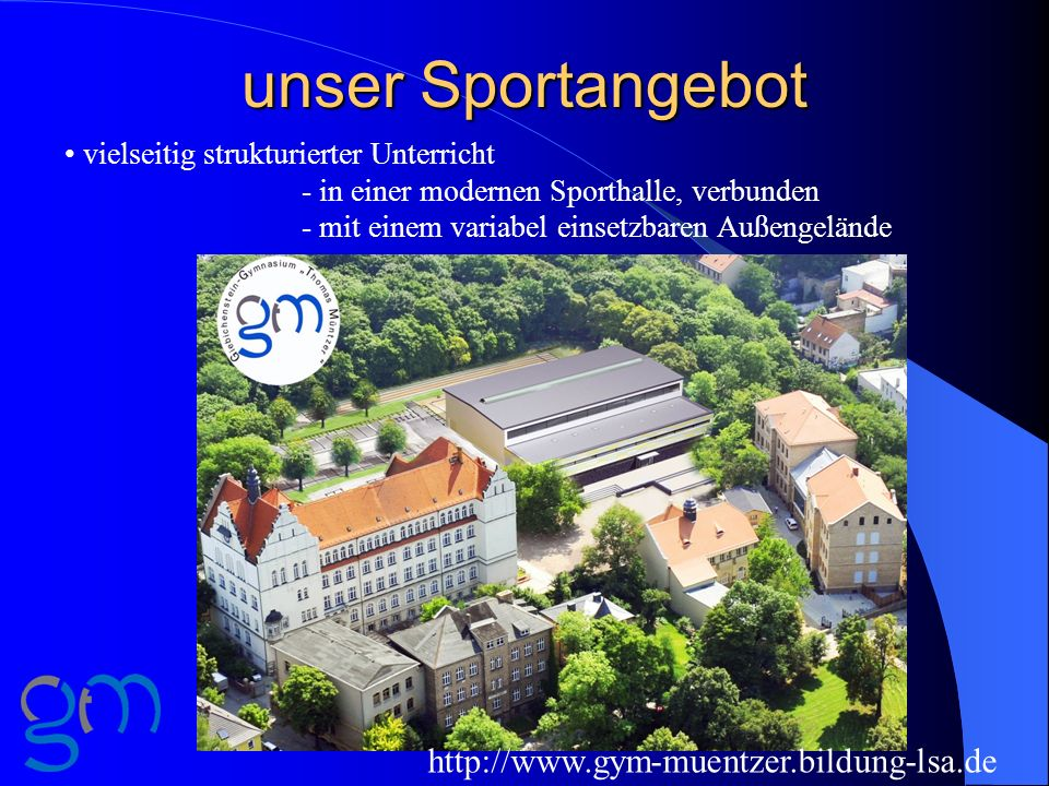unser Sportangebot http://www.gym-muentzer.bildung-lsa.de