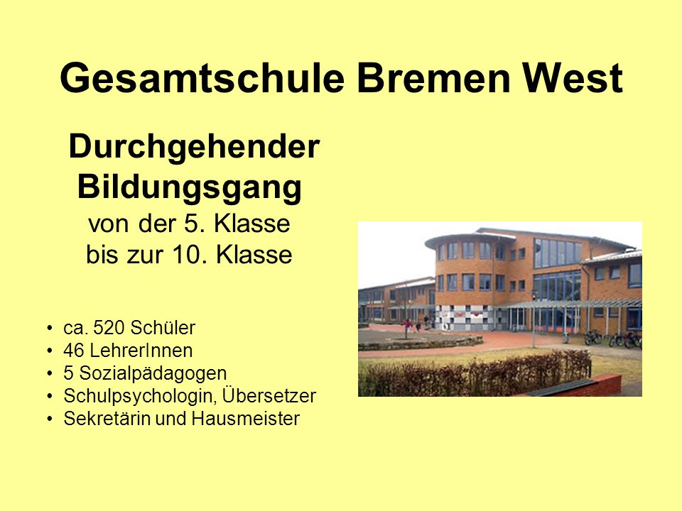Gesamtschule Bremen West