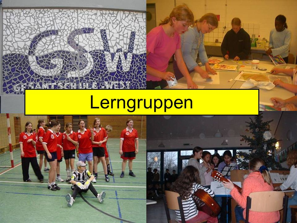 WAGs Lerngruppen