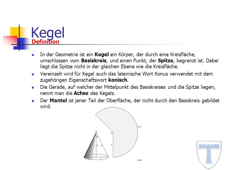 Kegel Definition.