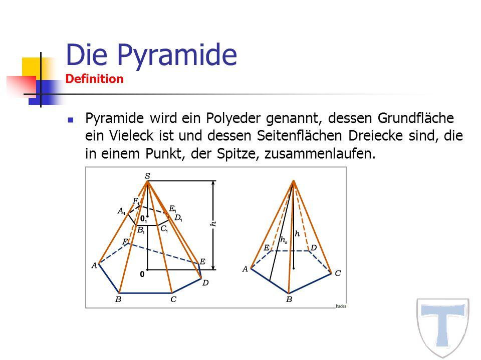 Die Pyramide Definition