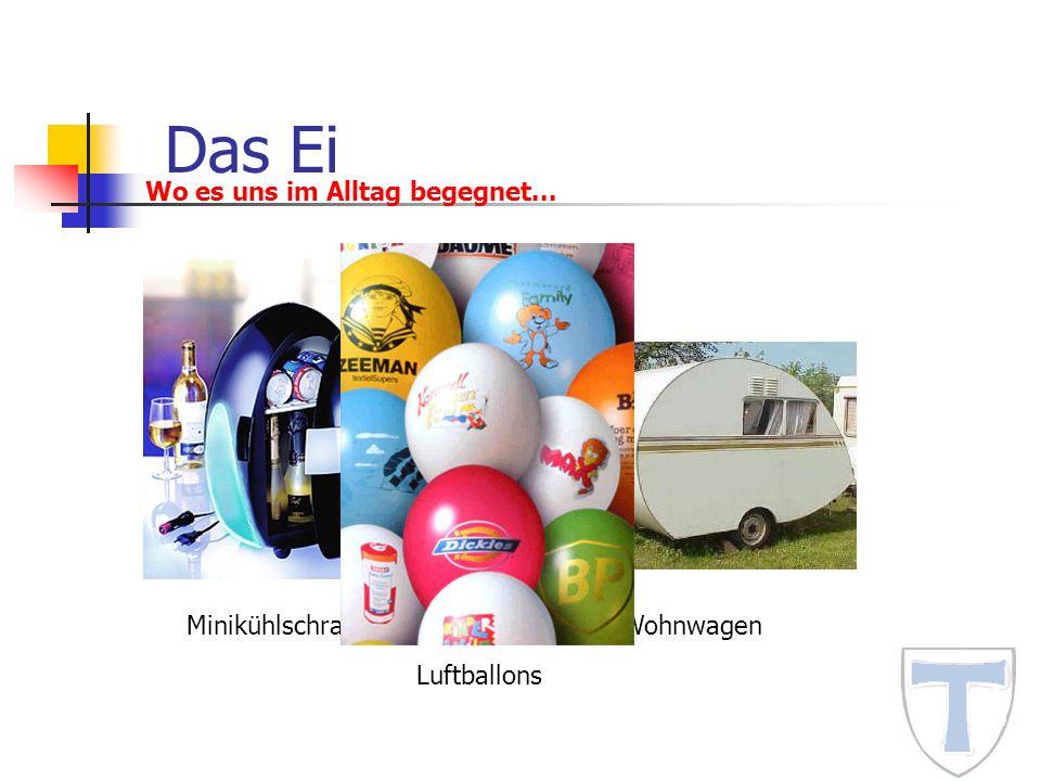 Das Ei Wo es uns im Alltag begegnet... Minikühlschrank Wohnwagen