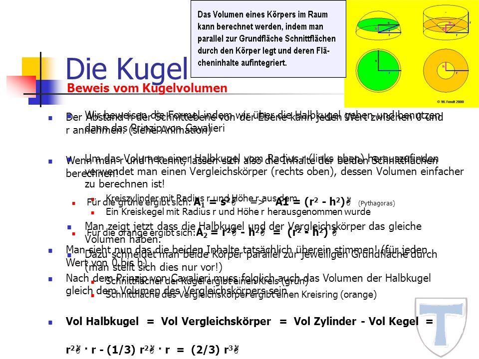 kugelvolumen berechnen rechner kugel matheretter berechnung des volumens einer kugel volumen. Black Bedroom Furniture Sets. Home Design Ideas