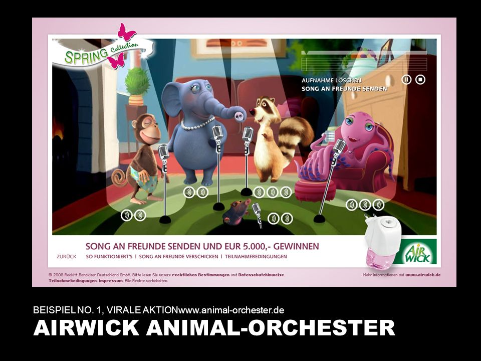 AIRWICK ANIMAL-ORCHESTER