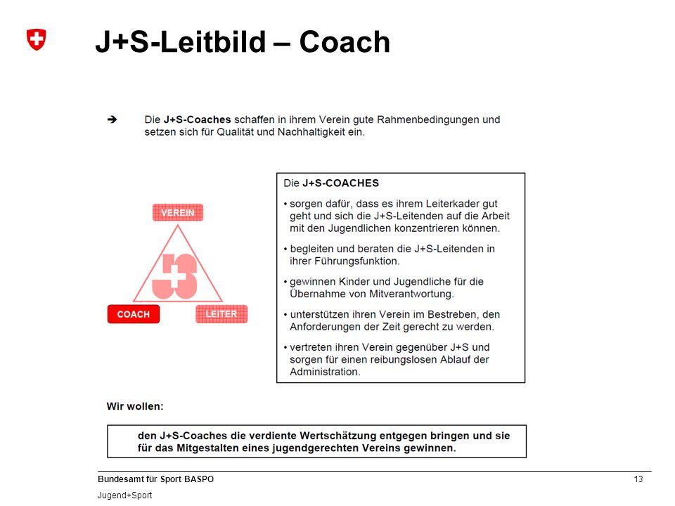 J+S-Leitbild – Coach C
