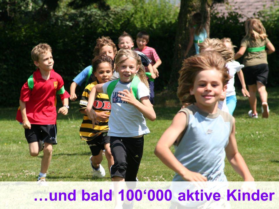 …und bald 100'000 aktive Kinder