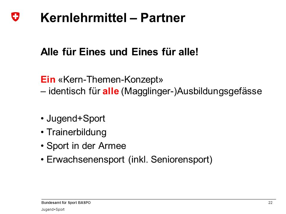 Kernlehrmittel – Partner