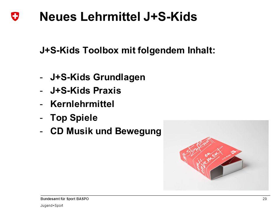 Neues Lehrmittel J+S-Kids