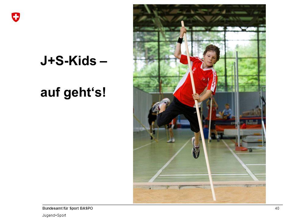 J+S-Kids – auf geht's! A