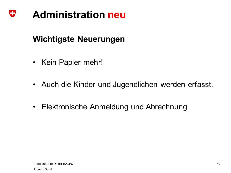 A Administration neu Wichtigste Neuerungen Kein Papier mehr!