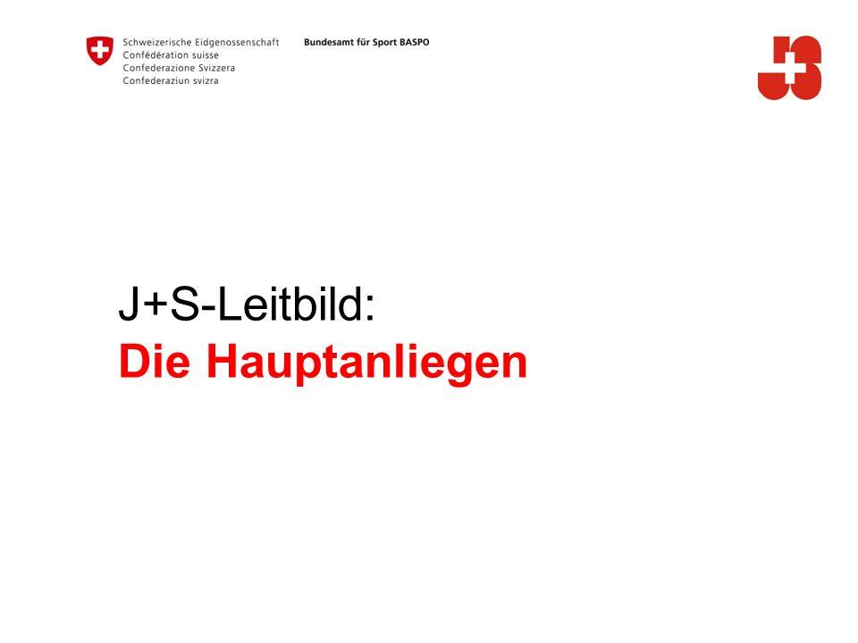 J+S-Leitbild: Die Hauptanliegen A