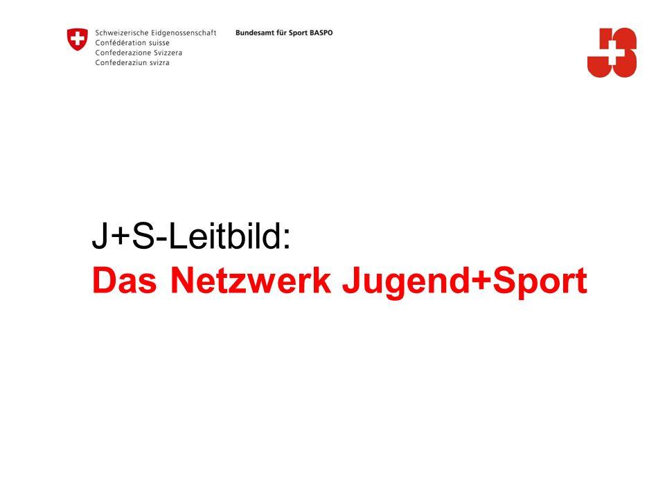 J+S-Leitbild: Das Netzwerk Jugend+Sport A