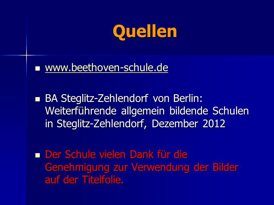 Quellen www.beethoven-schule.de