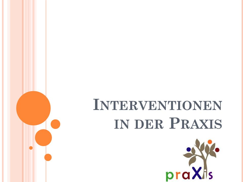 Interventionen in der Praxis