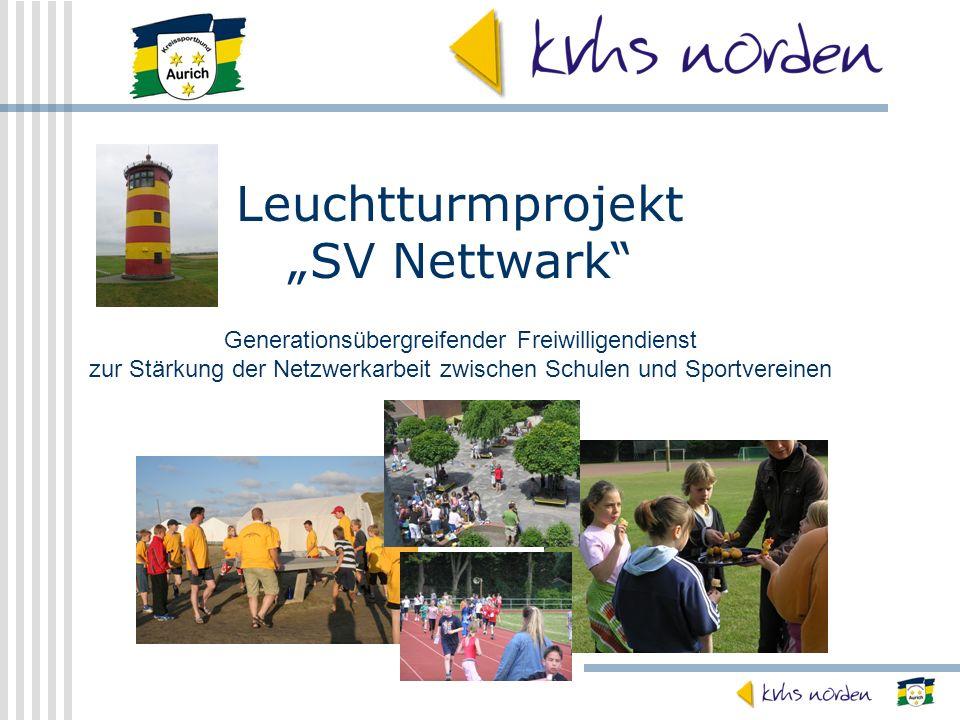 "Leuchtturmprojekt ""SV Nettwark"